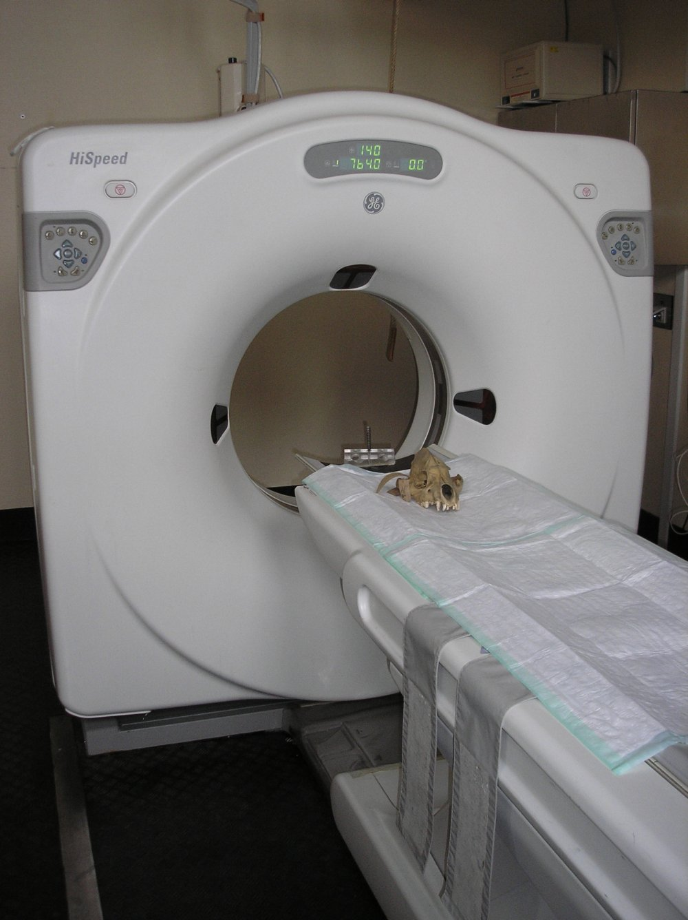 medical CT scanner